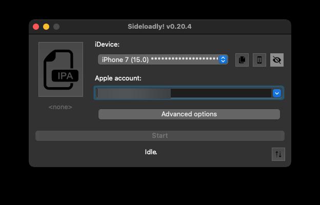 Sideloadly macOS