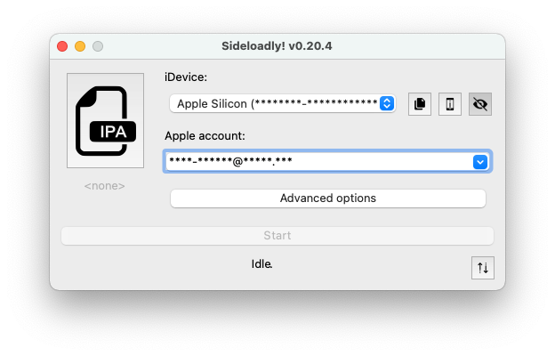 Sideloadly macOS Apple Silicon